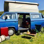 人生初キッチン付キャンピングカー生活の電気確保の方法