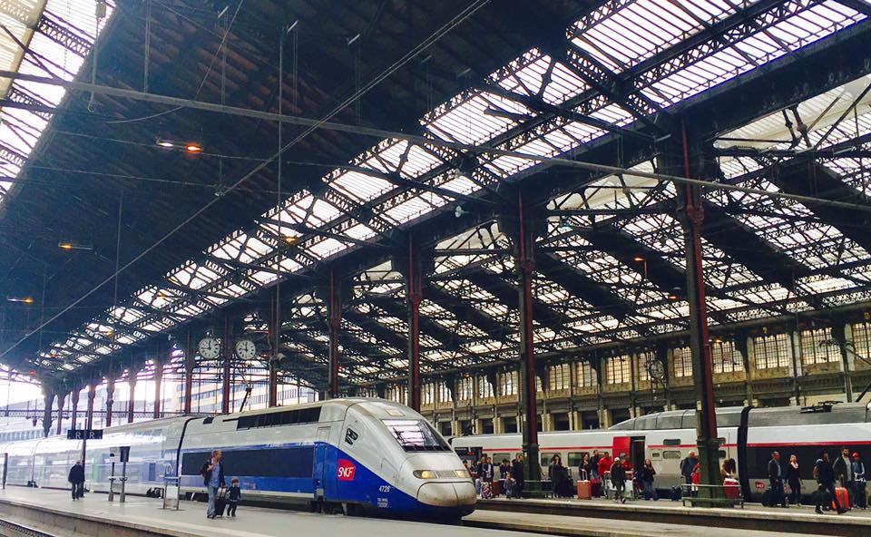 SNCFフランス国鉄のTGV高速列車の路線と料金