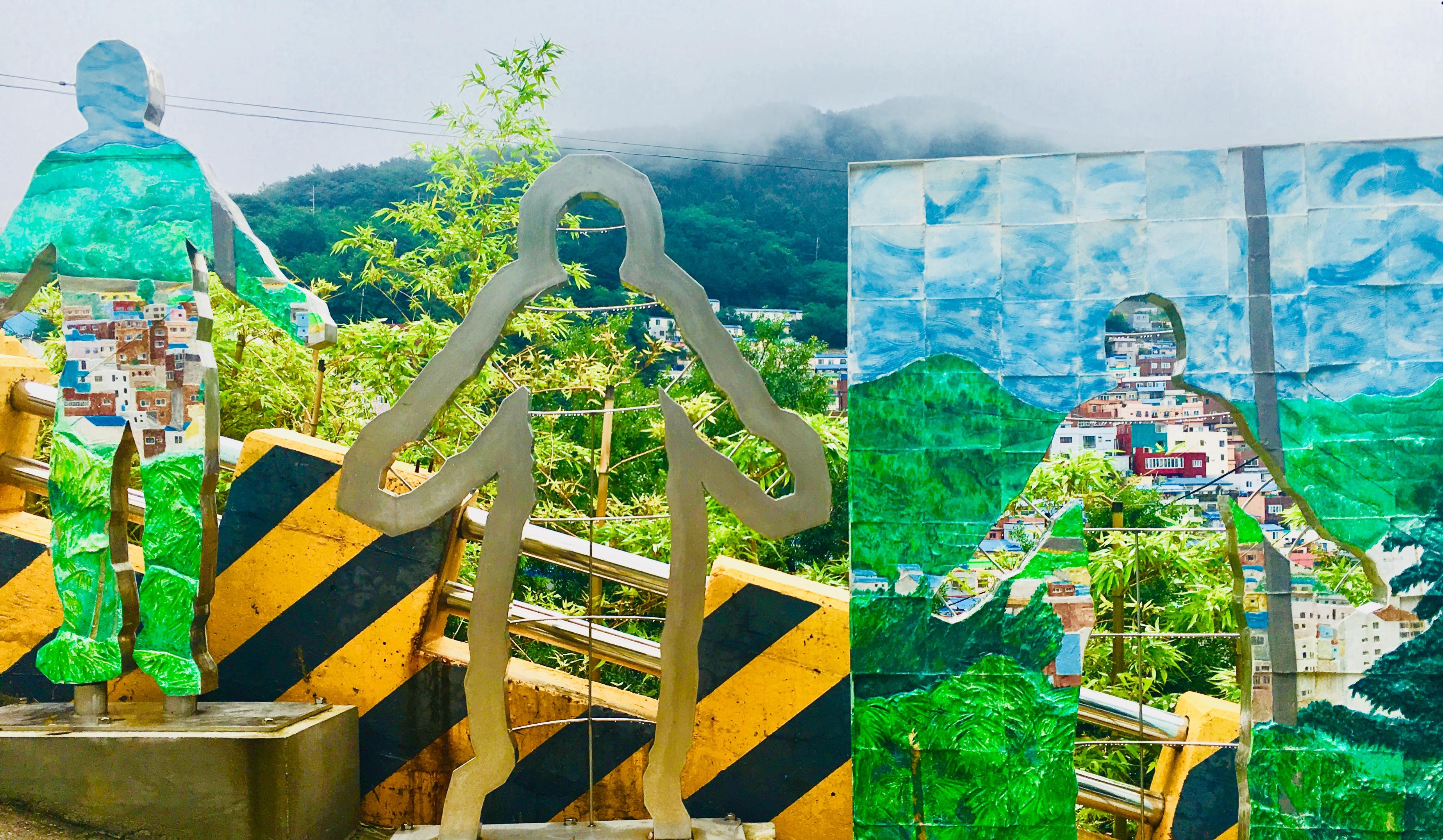 釜山甘川文化村のマップで紹介!写真スポットのモデルコース