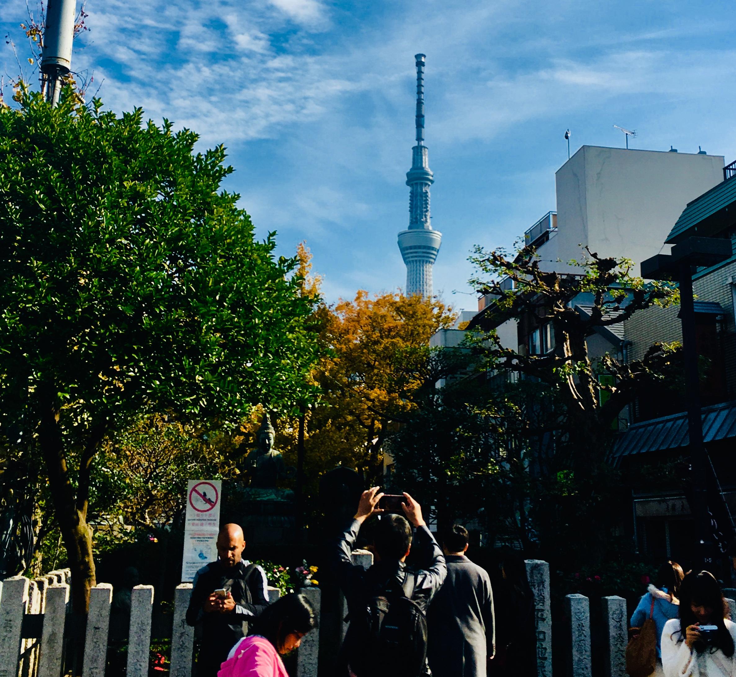 最寄り駅や所要時間は?ソラミ坂から東京スカイツリー全景を写真に撮ろう
