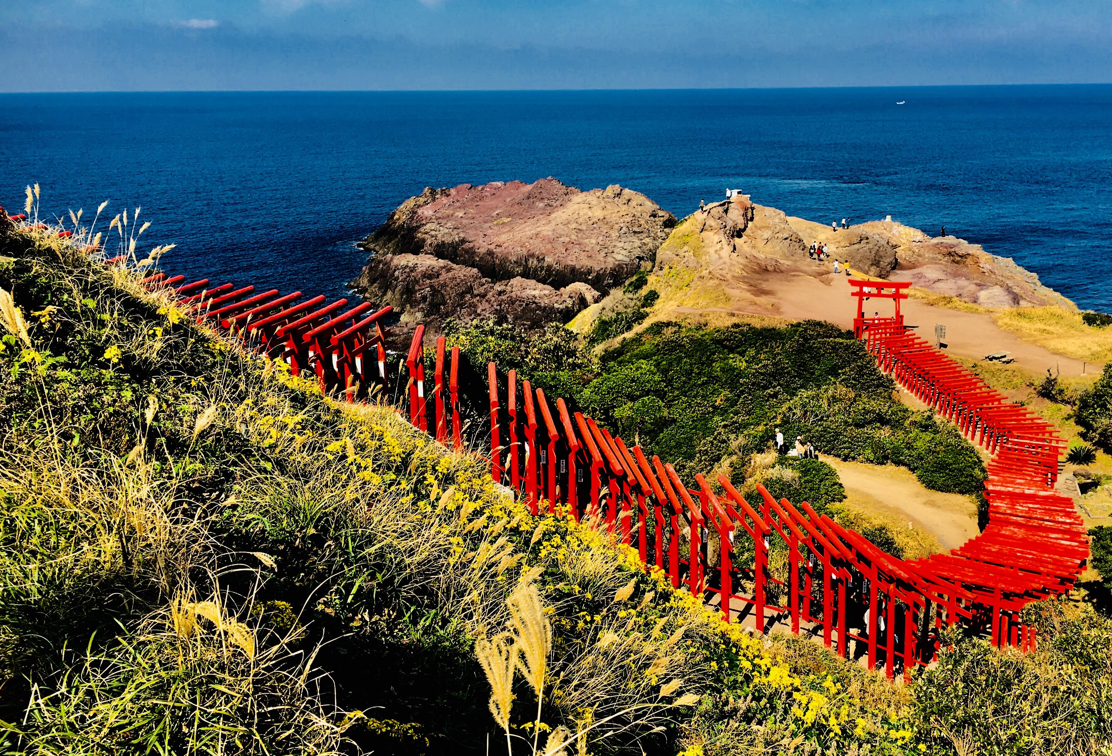 明治維新150年!元乃隅稲成神社や角島大橋の山口絶景巡り