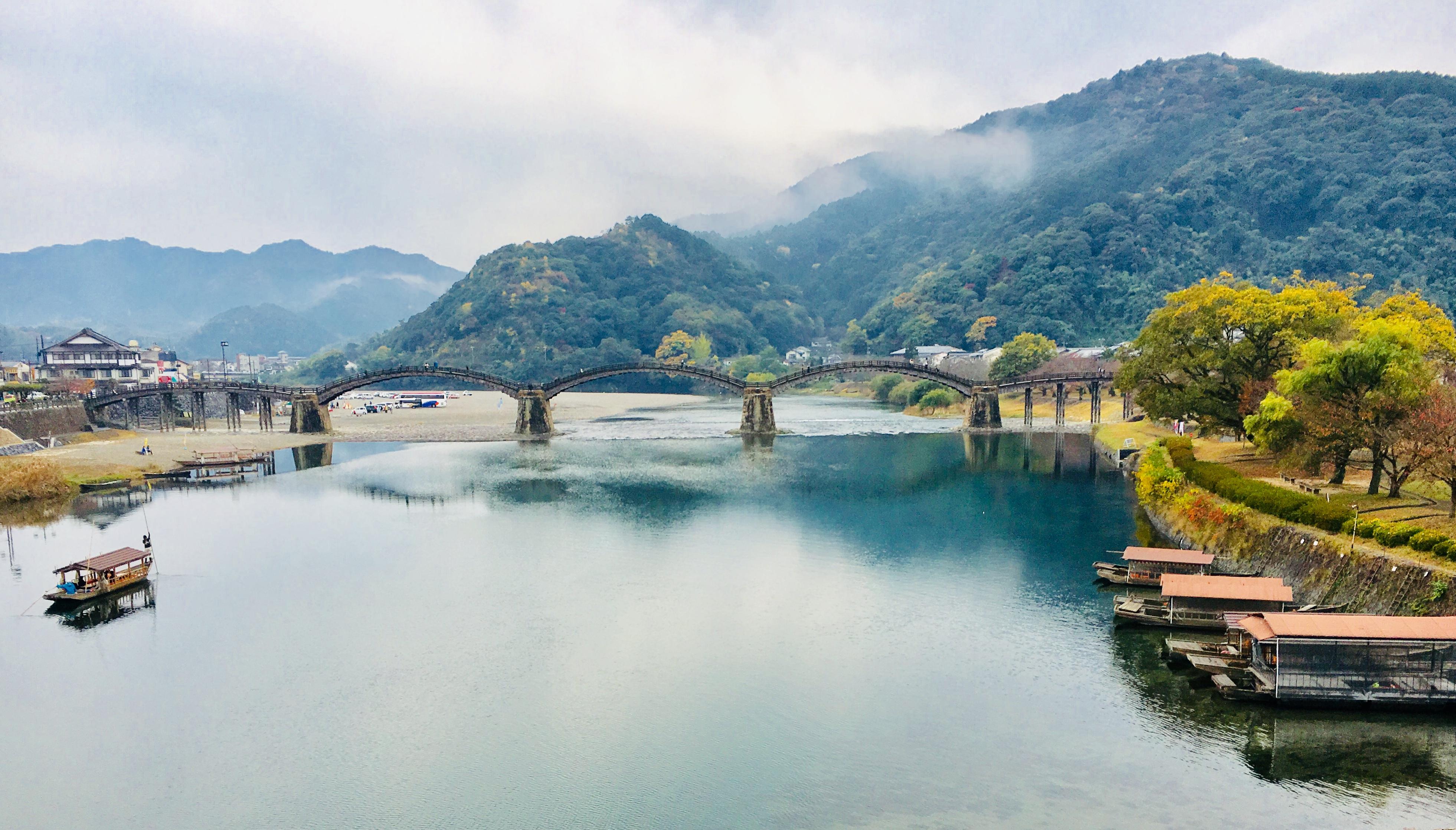 日本三名橋錦帯橋と岩国城とロープ―ウェイをセット券割引でお得に