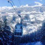 フランスパラディスキーのラプラニュスキー場でスノーボード