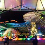 セントーサ島で無料ショーや世界最大ビューイングパネルを体験