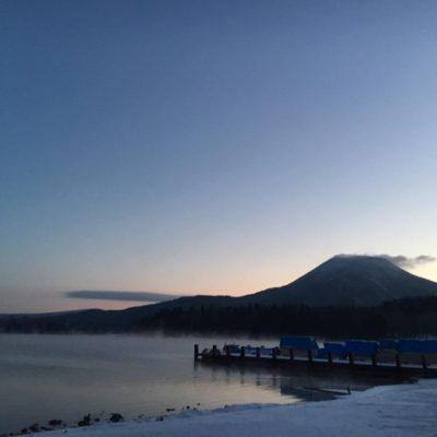 阿寒国立公園阿寒湖氷上フェスティバルやオンネトーとパンケトー