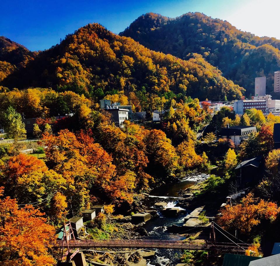 北海道定山渓温泉と豊平峡ダム周辺のトレッキングコース