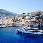エーゲ海クルーズでピスタチオ名産のエギナ・イドラ・ポロス島を巡る