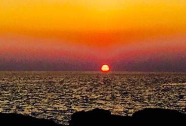 プーケットの夕陽