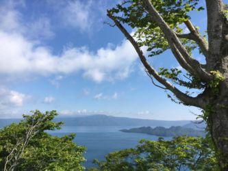十和田湖発荷峠展望台