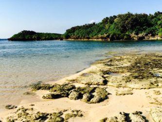 西表島の海岸