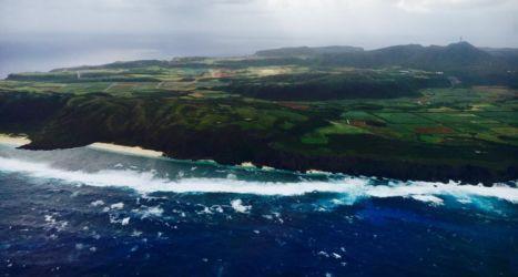 与那国島の島東端