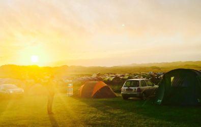 夕刻のヒレンドキャンプ