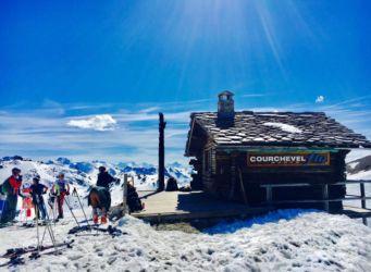 クーシュベルの春スキー