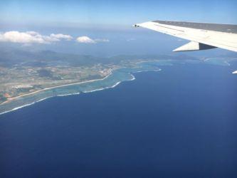 与那国島の遠景
