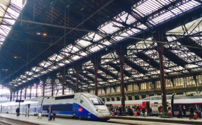 TGVリヨン駅