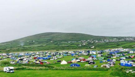 ヒレンドキャンプ場の全景