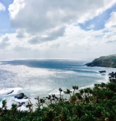 東崎展望台からの眺め