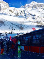 ティーニュの登山列車