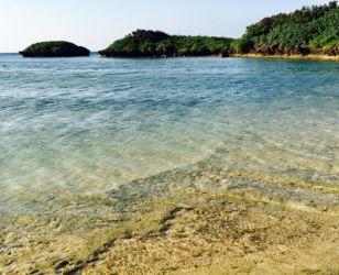 西表島の透明度