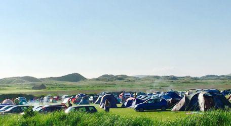 週末のヒレンドキャンプ場