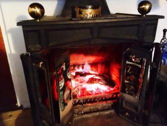 ボゼルの暖炉