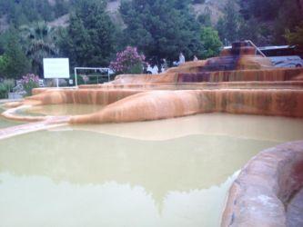 パムッカレの温泉
