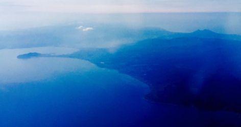 駒ヶ岳と函館山