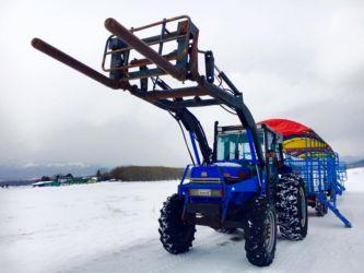雪上トラクター