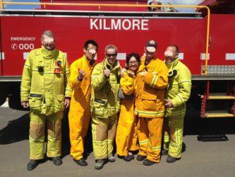 Kilmoreで消火訓練_LI