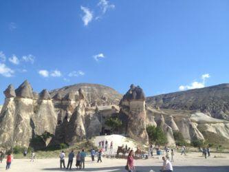 カッパドキアの奇岩群