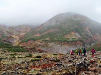 黒岳から旭岳へ縦走