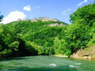 夏の八剣山