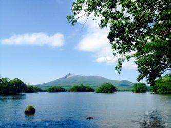 駒ケ岳と大沼公園