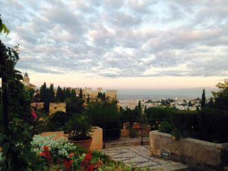 アルハンブラ宮殿からの眺め