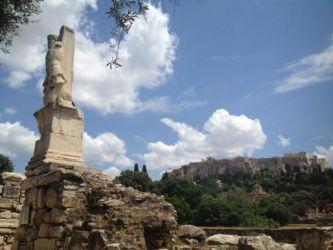 アクロポリス遠景