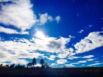 富良野の空