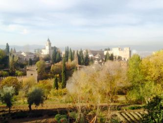 アルハンブラ宮殿からの遠景