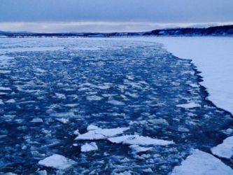 真冬のオホーツク海