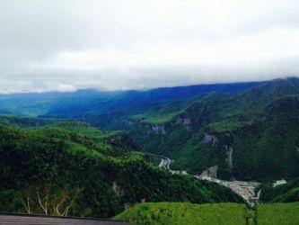 層雲峡渓谷
