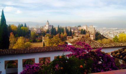 アルハンブラ宮殿からの景色