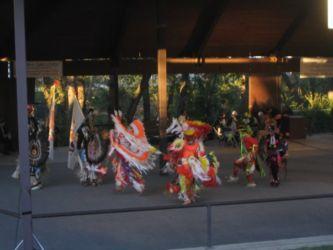 インディアンの民族ダンス