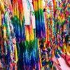 佐々木禎子の折り鶴から今では千羽鶴数が約1万羽10トンが捧げられる